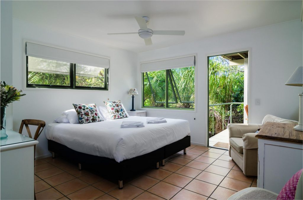 Peregian Beach accommodation, The Retreat Beach Houses have versitile bedding configuration